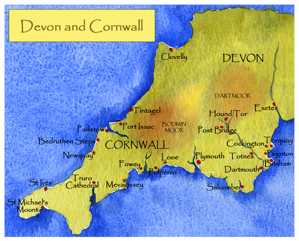 Devon and Cornwall Paintings