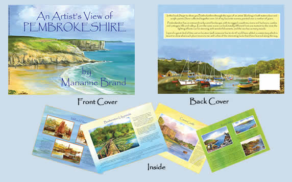 An Artist's View of Pembrokeshire Book