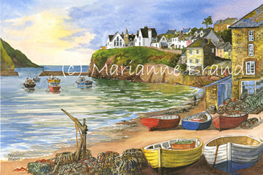 Paintings By Marianne Brand Port Isaac