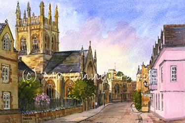 Paintings By Marianne Brand Oxford University Merton